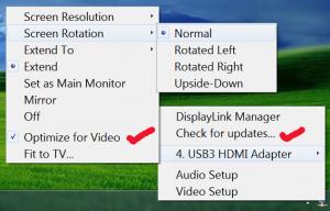 Windows 7 Options