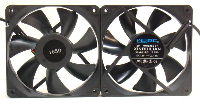 XSPC fans - two RDL1225S's