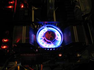 Fan powered up