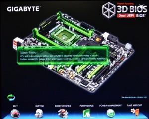 Duel EFI BIOS - Main Screen