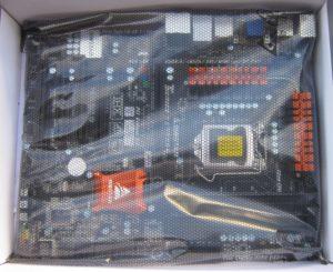 It even has a motherboard in it.