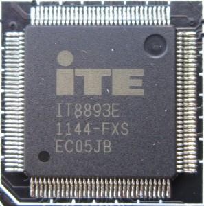 The Z77 PCH lacks a PCI controller, this chip (IT8893E) is a PCI to PCIe bridge.