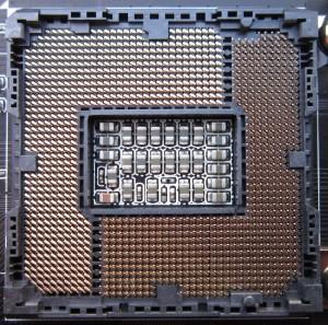 The socket, standard LGA1155.