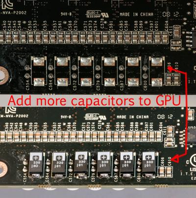 Capacitor Mod