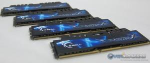 G.Skill RipjawsX 32GB DDR3-2133