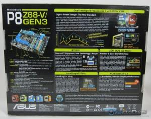 ASUS P8Z68-V GEN3 Rear