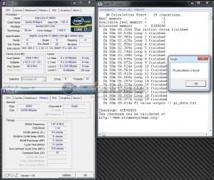 SuperPi 1M @ DDR3-2322
