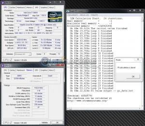 SuperPi 32M @ DDR3-2304
