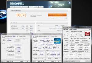 3DMark11 @ 4.5 Ghz CPU