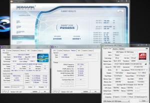 3DMark Vantage @ 4.5 Ghz CPU