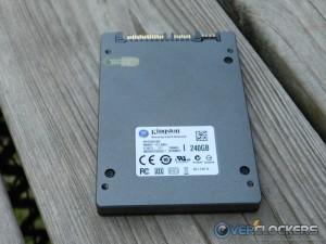 Back of HyperX 3K SSD