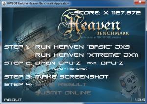 HWBot Heaven DX11, no virtu here.