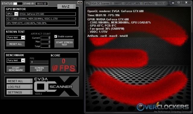 EVGA OC Scanner X