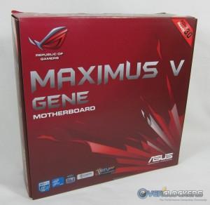 ASUS Maximus V GENE Box