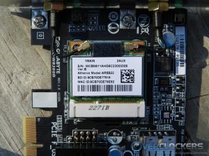WiFi + Bluetooth Card Close Up