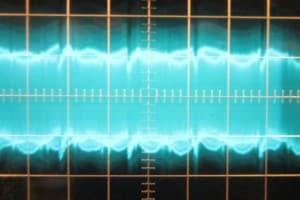 576 W 12 V crossload, ~40 mV of ripple. Scope at 5ms/10mV.