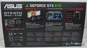 ASUS GTX670 DirectCU II TOP Box Rear