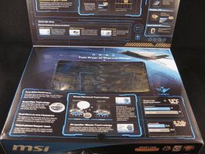 MSI R7870 HAWK Retail packaging - Lid bottom