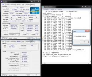 SuperPi 1M @ DDR3-2900 - 1.67vDIMM