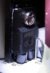 6R165P MOSFET