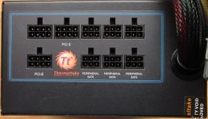 SP1000-M's modular output plugs.