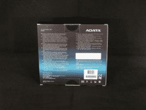 128GB Adata XPG SX900 - Retail Packaging (Rear)