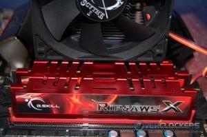 Fan Clearing Memory's Tall Heat Spreaders