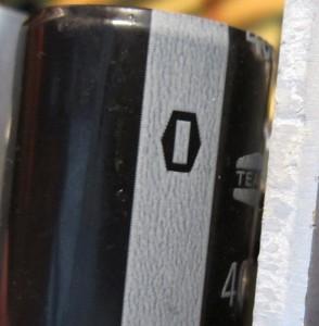 The primary storage cap. Teapo 85c.