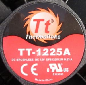 Tt Smart 530 W's fan hub. Standard Tt fan.