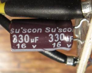 There are a few smaller Su'scon filter caps, too.