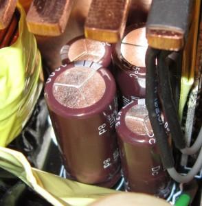 12 V filter capacitors
