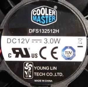 Cooler master branded fan
