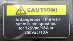 Follow this warning!