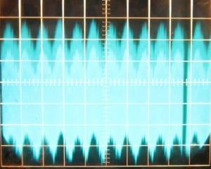 ~140 mV of ripple on the 12 V rail at full load