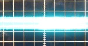 ~12 mV of ripple on the 3.3 V rail at zero load