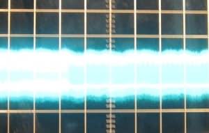 ~21 mV of ripple on the 3.3 V rail at full load