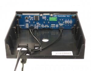 Control unit rear
