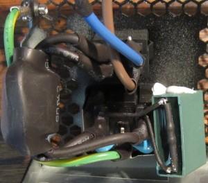 Transient filter part one: 2 Y caps, 1 X cap.