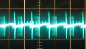 12 V ripple at full load cold, ~92 mV