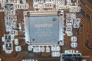 Nuvoton NCT6776D Sensor Chip