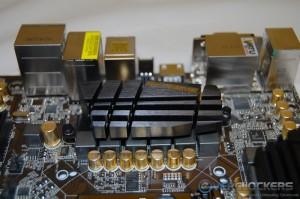 CPU Socket Distance From Left Side PWM Heatsink