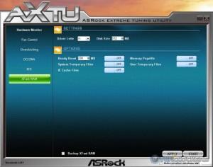 AXTU XFast RAM Section