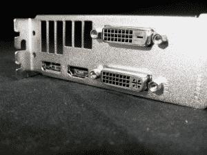 Outputs - 1 DVI-d, 1 DVI-SL, 1 HDM1 (1.4a), 1 Displayport