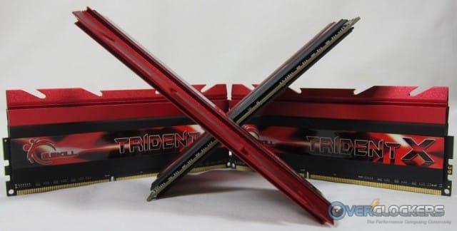 G.Skill TridentX DDR3-2400 32GB Kit