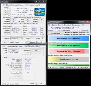 Maxxmem @ DDR3-2560 / 10-13-13-31 / 1.7V