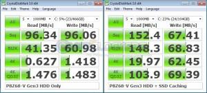 Crystal Disk Mark 3.0 Comparison