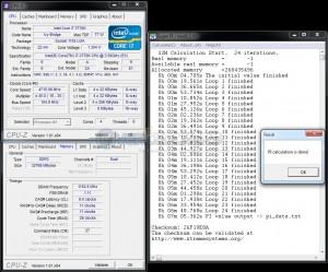 SuperPi 32M - DDR3-2300 / 9-11-11-28 / 1.7vDIMM