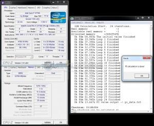 SuperPi 32M - DDR3-2550 / 11-13-13-35 / 1.7V