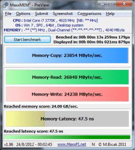 Maxmemm - 4.9Ghz