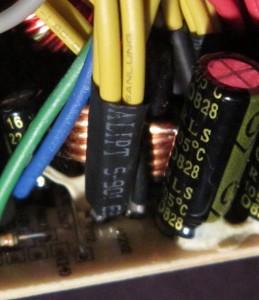 "12 V ""dual rail"" filter inductors"